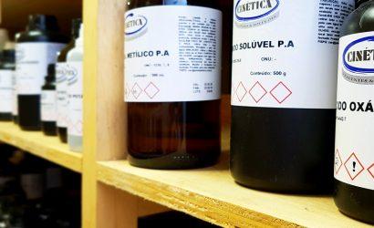 Reagentes Químicos- Itens Controlados pela Polícia Federal.