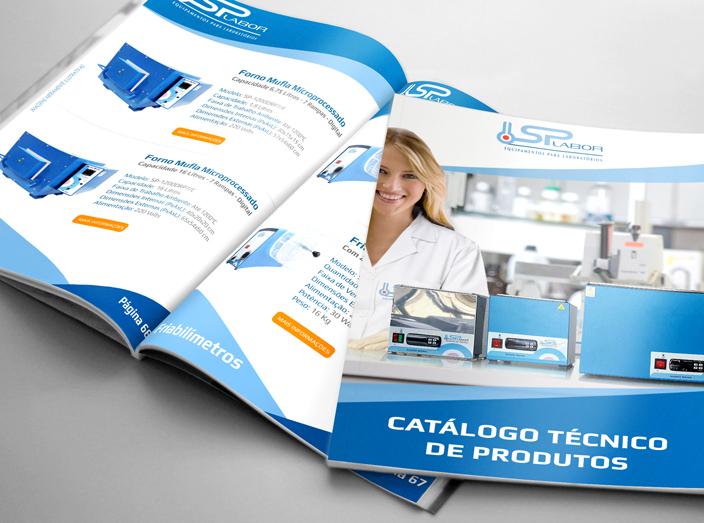 Catálogos de Produtos para Laboratório Disponíveis aos Clientes.