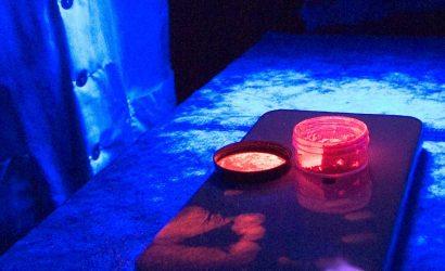 Lâmpada UV – Utilize sempre uma câmara escura com transiluminador.