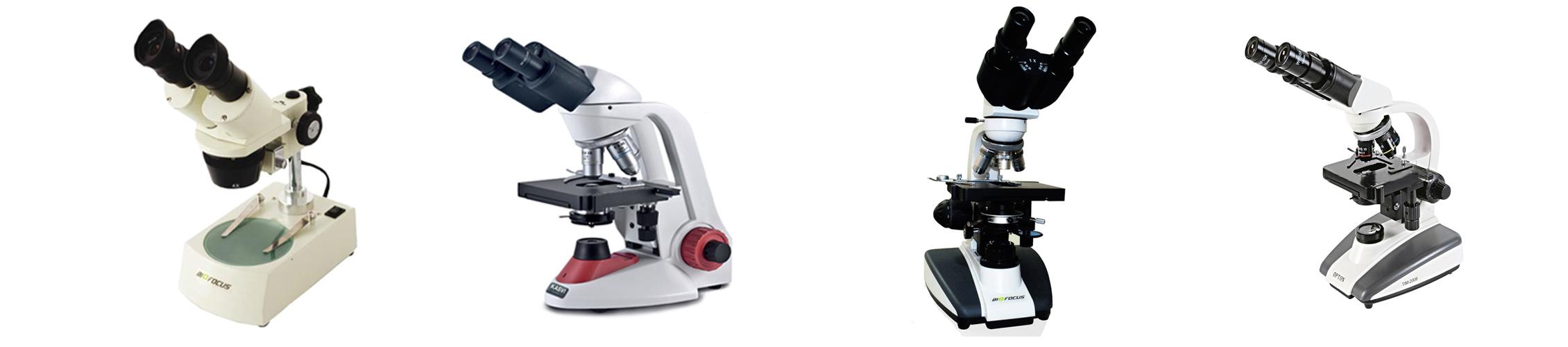 Microscópio Óptico (IMAGEM MERAMENTE ILUSTRATIVA)