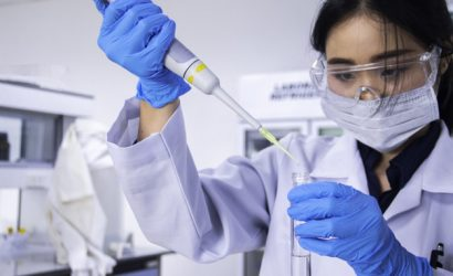 Segurança no laboratorio para enfrentamento ao COVID-19 seguindo orientações do CDC.
