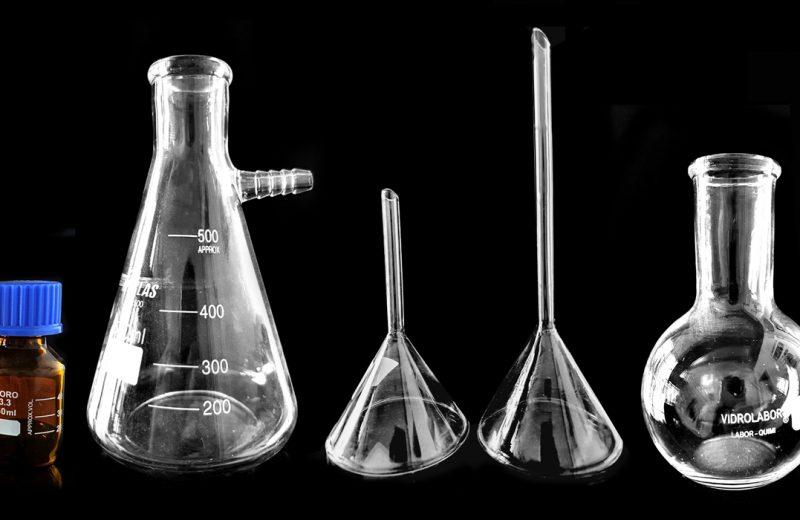 Principais vidrarias utilizadas em um laboratório e sua função.